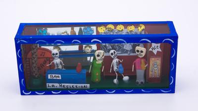 Ornament box Dia de los muertos Calavera