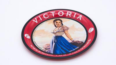 Coaster Metal with motif