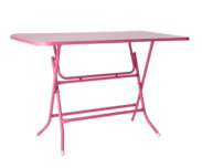 Table Foldable Pink