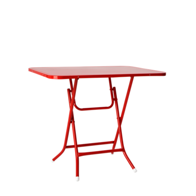Table Foldable Red
