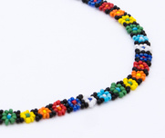 Necklace Huichol Small pearlflower