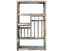 Shelf Stainless steel w46x79x25 Kitchen stand
