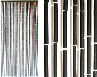 Curtain Black Bamboo