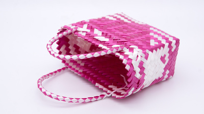 Bag Pink Mexico 12x20