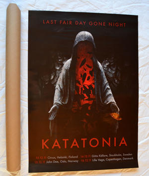 Katatonia - Nordic Tour Poster