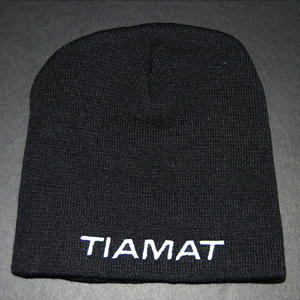 Tiamat - Beanie embrodied logo