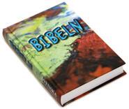 Mini-bibel, hård pärm med färgomslag