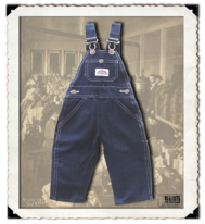 Blue Denim Bib Overall Kids
