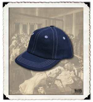 Denim baseball Cap - barn