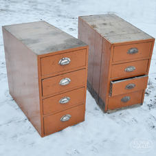 Old drawer units
