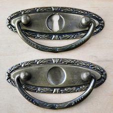 Brass handle no. 3