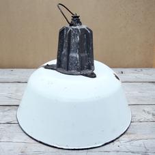 Gammal emaljerad lampskärm 3