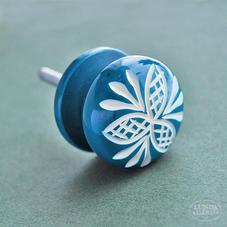 Knob blue