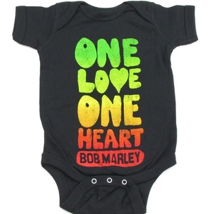 Bob Marley Creeper One Love One Heart