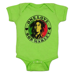 Bob Marley Creeper One Love Heart