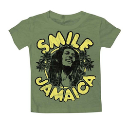 Bob Marley Infant Tee Smile Jamaica