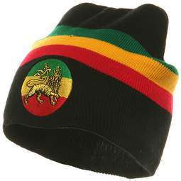 Rasta black lion