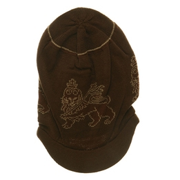 Rasta Long Lion Beanies Brown