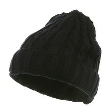 Twister Ski Beanie - Navy Blue