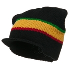 Eco Cotton Applejack Beanie Cap Black