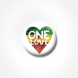 Pin - One Love