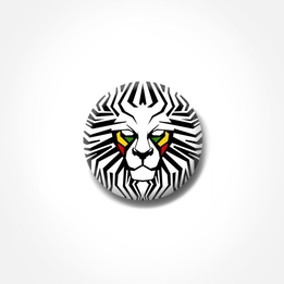 Pin - Lion Face