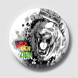 Pin - Iron Lion Zion
