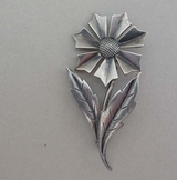 Silver brooch, G Dahlgren