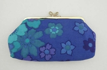 Vanity case, blue