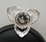 Silver ring, rock crystal, Theresia Hvorslev not used