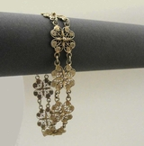 Bracelet, silver gilt