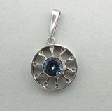 Pendant, silver