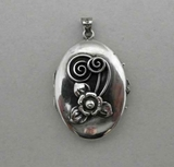 Silver pendant, G Dahlgren