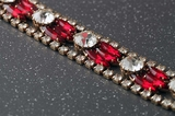 Bracelet, strass