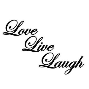 Vggdekoration /  Live Love Laugh