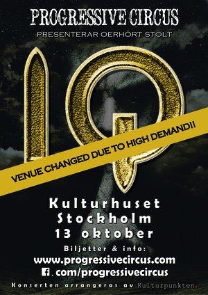 Ticket IQ @ Kulturhuset (Studion), Sthlm, Oct 13th