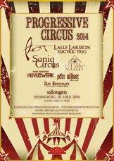 Affisch - Progressive Circus 2014