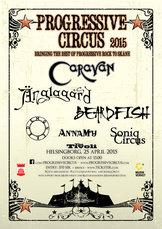 Affisch - Progressive Circus 2015