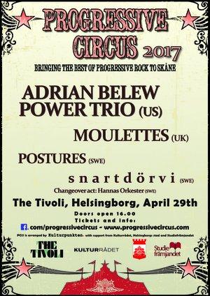 Ticket Progressive Circus 2017