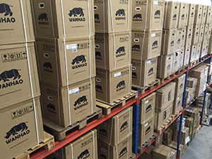 Large Stock of Wanhao 3D-Printers