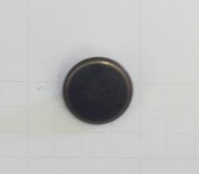 Metallknapp 118 Oxid 16,5mm