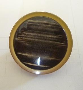 Knapp Ögla Guldkant 25,5mm