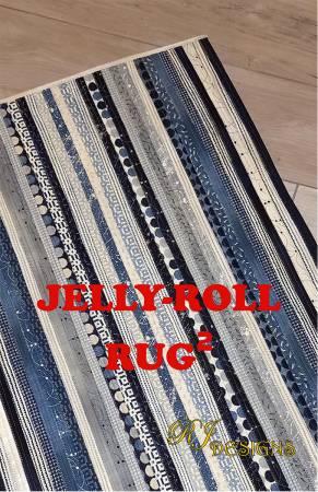Jelly Roll Rug Rektangulär