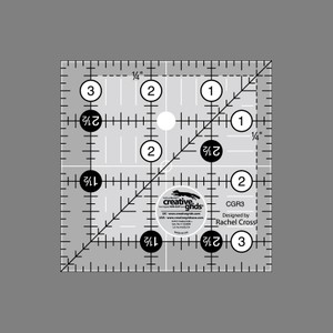 Linjal Creative Grids 3½ x 3½ Inch