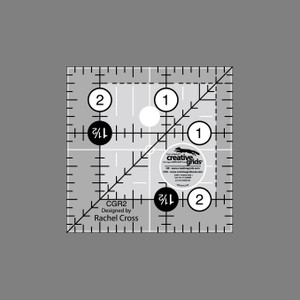 Linjal Creative Grids 2½ x 2½ Inch