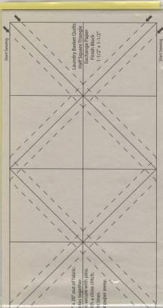 """Triangelpapper 1½ """""""