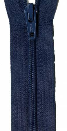 Dragkedja Navy  Blue 22 Inch ca 55 cm