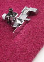 Huskylock s21 s25 Coverlock 3.0 4.0 Spets/osynlig fållsömsfot