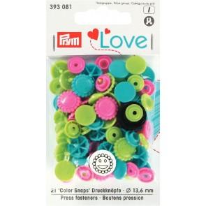 Love Color Snaps blomma grön