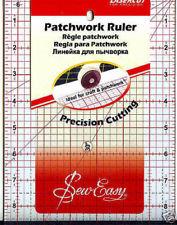 Linjal för quiltning 30x16cm